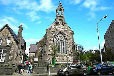 Photograph - Sligo Church by Charlie and Norma Brock