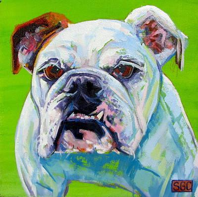 Carter.oil Painting - Slim by Sarah Gayle Carter