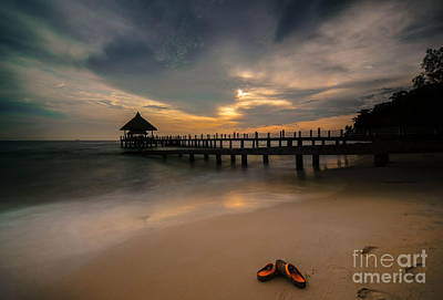 Photograph - Slipper Sleep by Arik S Mintorogo