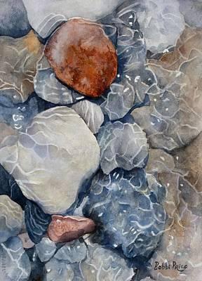 Slippery When Wet Art Print by Bobbi Price