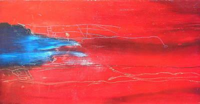 Painting - Slipstream by Jeff Barrett