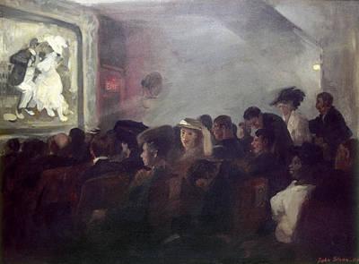 Sloan Painting - Sloan Nickelodeon, 1907 by Granger