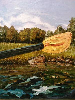 Painting - Slocum River by Ray Khalife