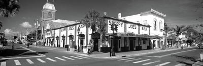 Sloppy Joes Bar Photograph - Sloppy Joes Bar Key West Fl by Panoramic Images