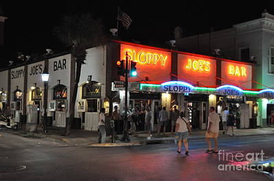 Photograph - Sloppy Joe's Bar Key West by John Black