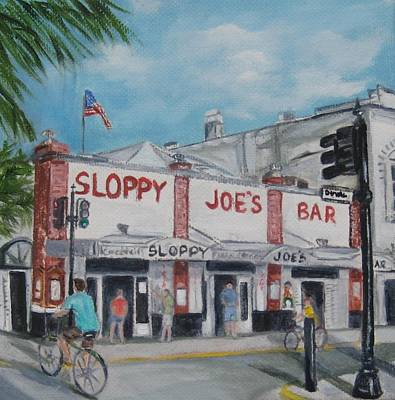 Painting - Sloppy Joe's by Linda Cabrera