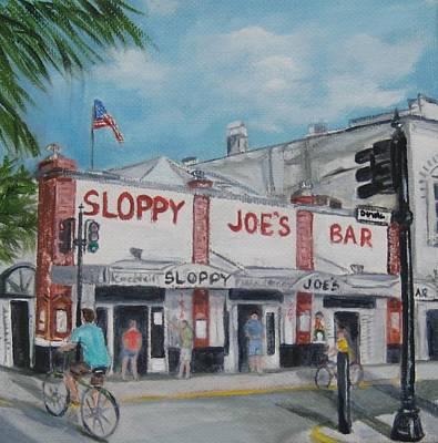 Sloppy Joe's Art Print
