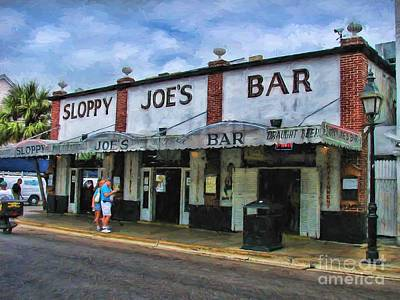 Photograph - Sloppy Joe's by Peggy Hughes