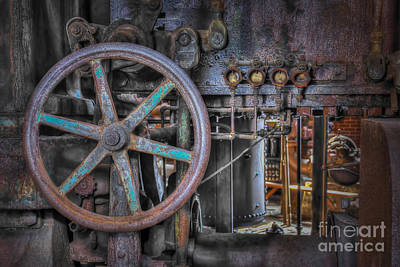Photograph - Sloss Blower Valve by Ken Johnson