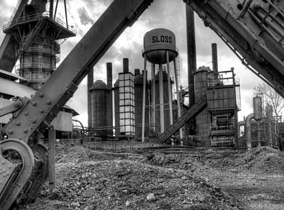 Photograph - Sloss Furnace by Fred Baird