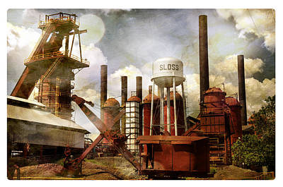 Sloss Furnace II Art Print
