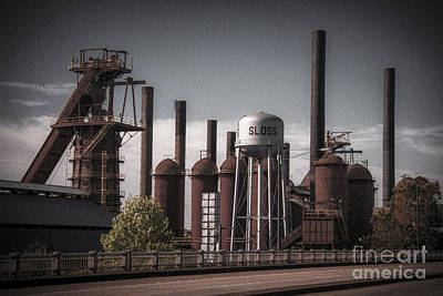 Photograph - Sloss Furnaces by Ken Johnson