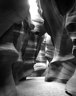Surrealism Digital Art Rights Managed Images - Slot Canyon 1 Royalty-Free Image by Mike McGlothlen