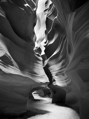 Surrealism Digital Art Rights Managed Images - Slot Canyon 4 Royalty-Free Image by Mike McGlothlen