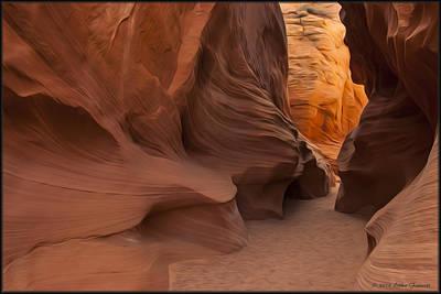 Photograph - Slot Canyon by Erika Fawcett