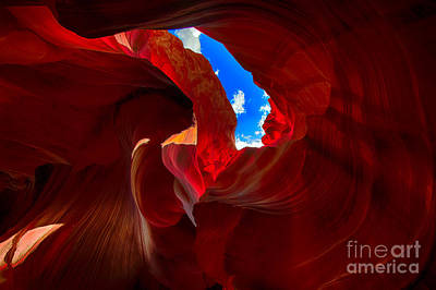 Photograph - Slot Canyon One by Rick Bragan