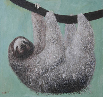 Painting - Sloth by Masami Iida