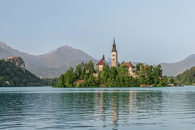 Slovenia, Bled, Bled Island (large Print by Rob Tilley