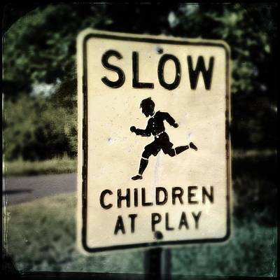 Photograph - Slow Children by Tim Nyberg
