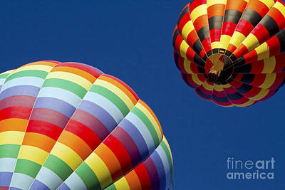 Hot Air Balloon Photograph - Slow Dance by Gary Holmes