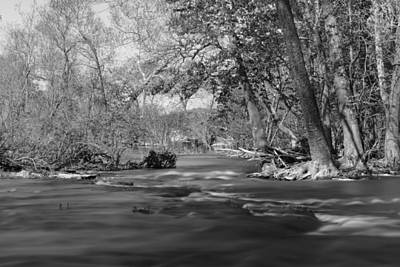 Photograph - Slow Down At The River by Jennifer White