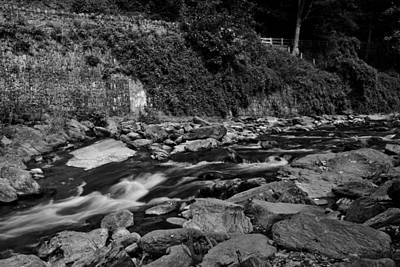 Photograph - Slow River by Lesley Rigg