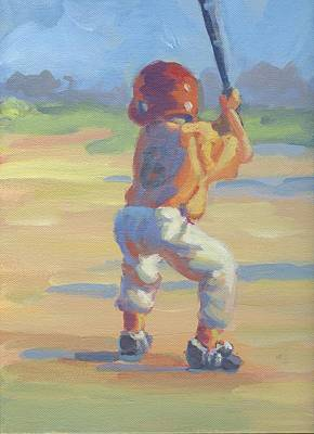 Slugger Painting - Slugger  by Lucelle Raad
