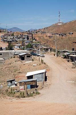 Sonora Photograph - Slum by Jim West