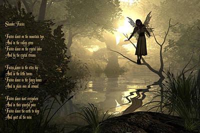 Fairy Poem Wall Art - Photograph - Slumber Fairies by Randi Kuhne