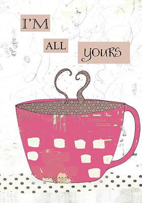Painting - Slutty Valentine Coffee IIi by Sarah Ogren