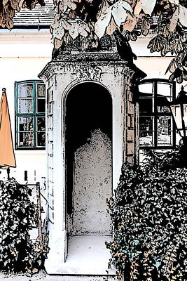 Art Print featuring the photograph Small Alcove by Cecil Fuselier