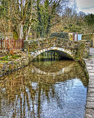 Photograph - Small Bridge by Nick Field