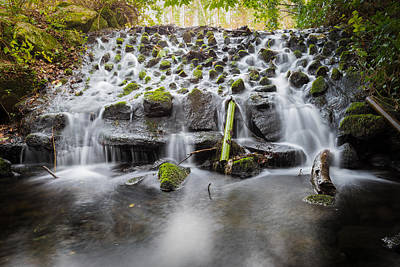 Photograph - Small Cascade In Marlay Park by Semmick Photo