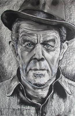 Drawing - Small Change For Tom Waits by Eric Dee