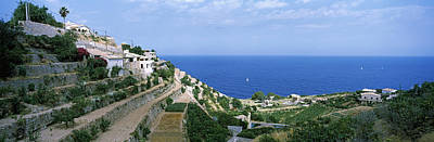 Small Coastal Village, Deia, Majorca Art Print
