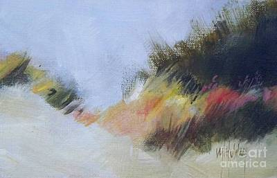 Sand Dunes Painting - Small Dunes 1 by Mary Hubley