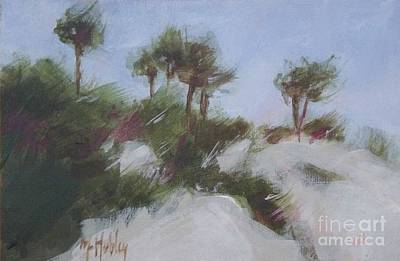 Sand Dunes Painting - Small Dunes 2 by Mary Hubley