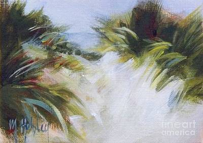 Sand Dunes Painting - Small Dunes 3 by Mary Hubley