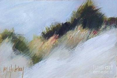 Sand Dunes Painting - Small Dunes 4 by Mary Hubley