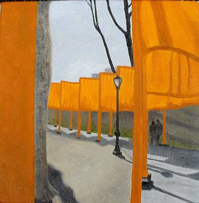 Painting - Small Gates by Karin Thue