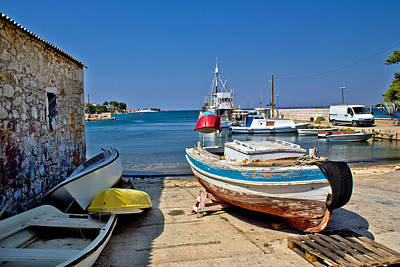 State Love Nancy Ingersoll - Small harbor in fishermen village by Brch Photography