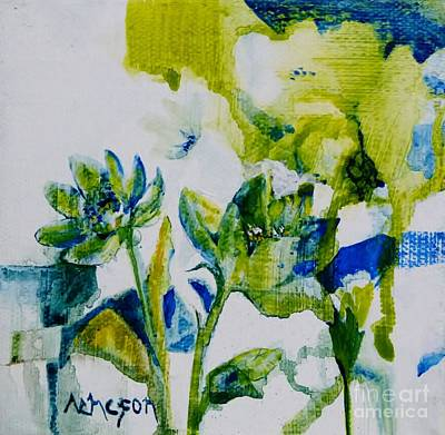 Painting - Small Is Nice by Donna Acheson-Juillet