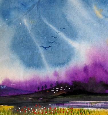 Small Landscape 4 Art Print