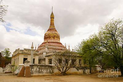 Photograph - Small Monastery Near West Pwazaw Village Bagan Burma by Ralph A  Ledergerber-Photography