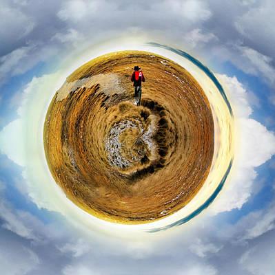 Digital Art - Small Planet  by Svetoslav Sokolov