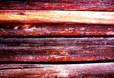Photograph - Small Shed Siding by Robert  Rodvik