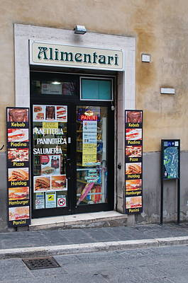 Photograph - Small Shop by Francois Dumas