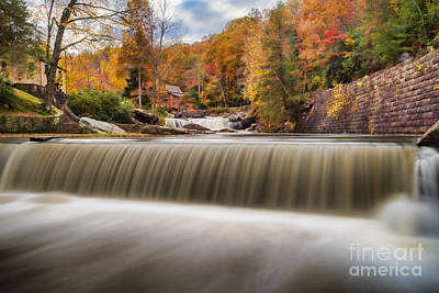 Photograph - Small Spillway On Glade Creek by Dan Friend