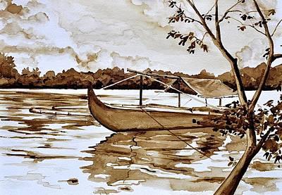 Small Time Fishing Art Print