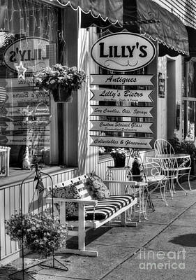 Photograph - Small Town America 4 Bw by Mel Steinhauer